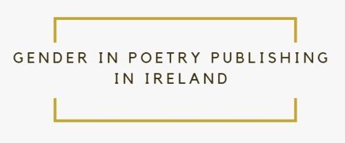 gender poetry publishing