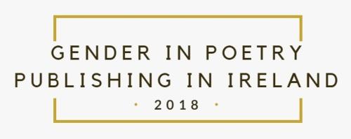 Gender poetry publishing 2018